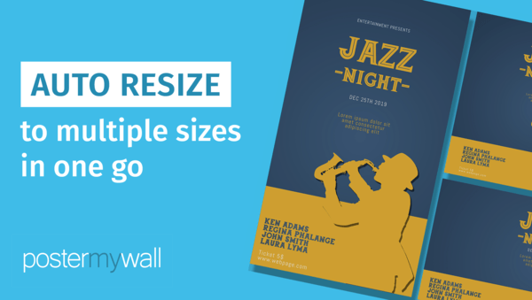 Auto resize to multiple sizes in one go